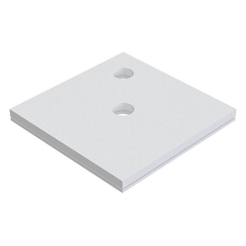 Schedel Plan Unterbauelement 150 x 150 cm bodeneben, 2er Set Plan B: 150 T: 150 cm 2-teilig, für Plan Duschelemente bodeneben SA 32224