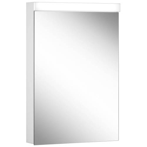 Schneider Low Line Basic LED 4000 K Spiegelschrank LOB 50/1, 50 x 74,8 cm Low Line Basic LED B: 50 H: 74,8 T: 13,5 cm weiß 171.250.02.02