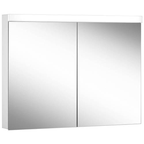 Schneider Low Line Basic LED 4000 K Spiegelschrank LOB 100/2, 100 x 74,8 cm Low Line Basic LED B: 100 H: 74,8 T: 13,5 cm weiß 171.300.02.02