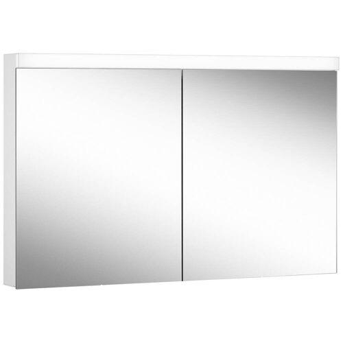 Schneider Low Line Basic LED 4000 K Spiegelschrank LOB 120/2, 120 x 74,8 cm Low Line Basic LED B: 120 H: 74,8 T: 13,5 cm weiß 171.320.02.02