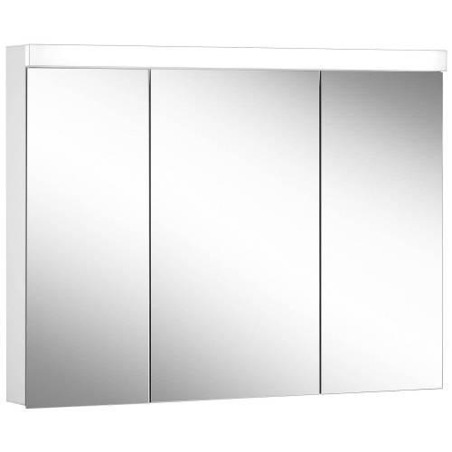 Schneider Low Line Basic LED 4000 K Spiegelschrank LOB 100/3, 100 x 74,8 cm Low Line Basic LED B: 100 H: 74,8 T: 13,5 cm weiß 171.301.02.02