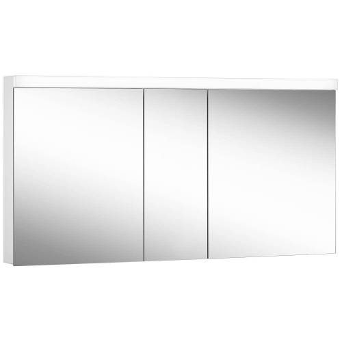 Schneider Low Line Basic LED 4000 K Spiegelschrank LOB 150/3, 150 x 74,8 cm Low Line Basic LED B: 150 H: 74,8 T: 13,5 cm weiß 171.350.02.02