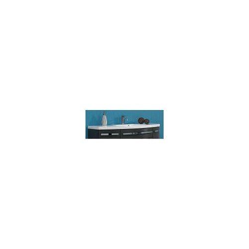 Artiqua 814 Mineralmarmor-Waschtisch 814 B: 130 T: 48,5 H: 4 cm weiß 814.0-MMWTR485-1300