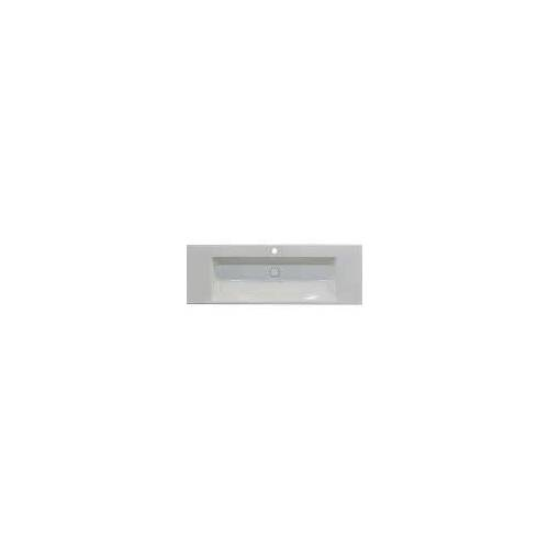 Bette BetteAQUA Einbauwaschtisch 140 x 49,5 cm mit Hahnloch BetteAqua B: 140 T: 49,5 H: 8 cm weiß A046-000HLW1