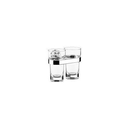 Emco Polo Doppelglashalter mit Kristallglas Polo mit Kristallglas, klar chrom 072500100