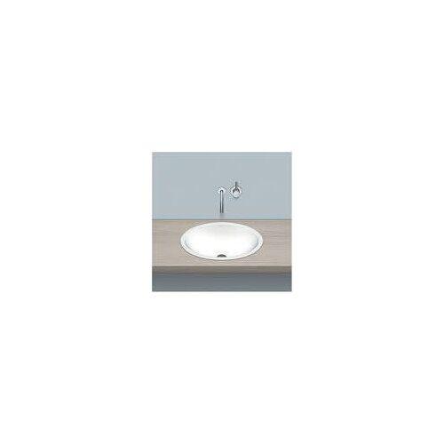Alape Einbaubecken EB.O525, ovalförmig 52,5 x 42,5 cm Einbaubecken B: 52,5 T: 42,5 H: 14,4 cm weiß 2101100000