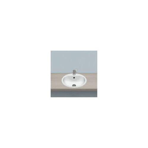 Alape Einbaubecken EW 3, kreisförmig mit 47,5 cm Ø Einbaubecken Ø: 47,5 H: 17,7 cm weiß 2005000000