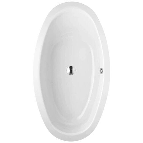 Bette Home Oval-Badewanne 180 x 100 cm Home Oval L: 180 B: 100 H: 45 cm weiß mit betteglasur®plus 8994-000Plus