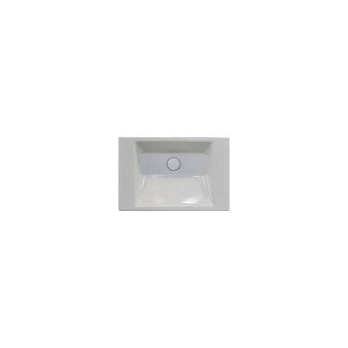 Bette BetteAQUA Wandwaschtisch 60 x 40 cm ohne Hahnloch BetteAqua B: 60 T: 40 H: 12,5 cm weiß A057-000-Tiefe40cm