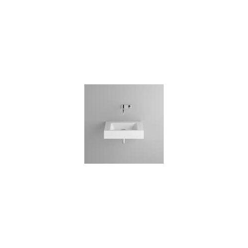 Bette BetteAQUA Wandwaschtisch mit Falzrand 60 x 49,5 cm ohne Hahnloch BetteAQUA B: 60 T: 49,5 H: 12,5 cm weiß A056-000