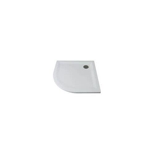 Breuer Noa Flat Line Design Rundduschwanne RDW Radius 50 cm, 80 x 80 cm NOA Flat Line Design Rundduschwanne RDW B: 80 T: 80 H: 3,5 R: 50 cm