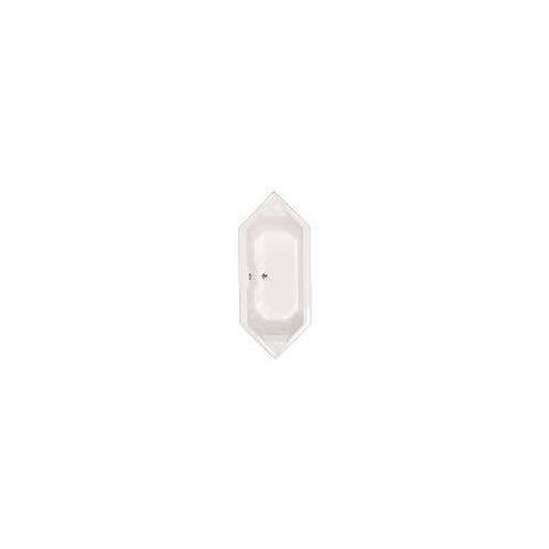 Caribia Calypso 2000 6-Eck-Badewanne 200 x 86 cm Calypso 2000 L: 200 B: 86 H: 45,5 cm weiß Calypso 2000 inkl. Fussgestell