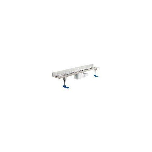 Dallmer CeraLine Duschrinne W700 CeraLine W B: 80/70 T: 12,4 H: 11 cm für Montage an der Wand 520135