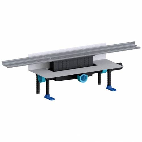 Dallmer Duschrinnen-Set CeraWall Pure Plan, DN 40, 120 cm CeraWall Pure L: 120 cm Ablaufstutzen DN 40 seitlich 539977