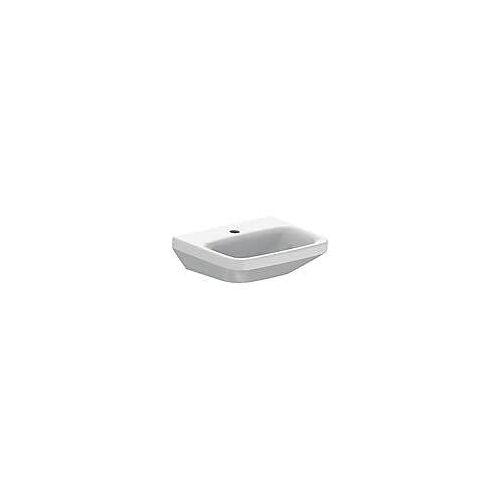 Duravit DuraStyle Handwaschbecken 45 cm, mit 1 Hahnloch DuraStyle B. 45 T: 33,5 cm weiß 0708450000