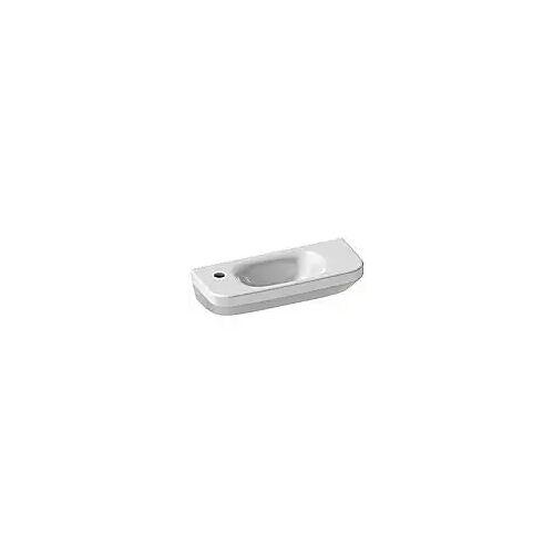 Duravit DuraStyle Handwaschbecken 50 cm, mit 1 Hahnloch links DuraStyle B: 50 T: 22 cm weiß 0713500009