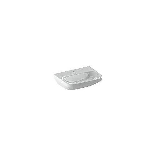 Duravit DuraStyle Waschtisch Med 55 cm, mit 1 Hahnloch DuraStyle B: 55 T: 44 cm weiß 2324550000