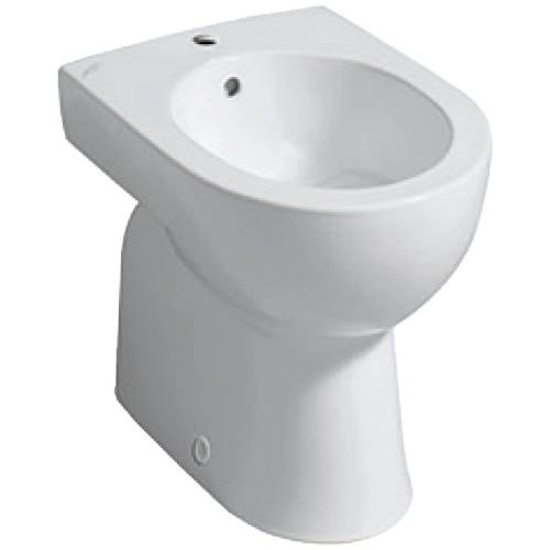 Geberit Renova Bidet, bodenstehend Renova B: 35,6 T: 51 cm weiß 233010000