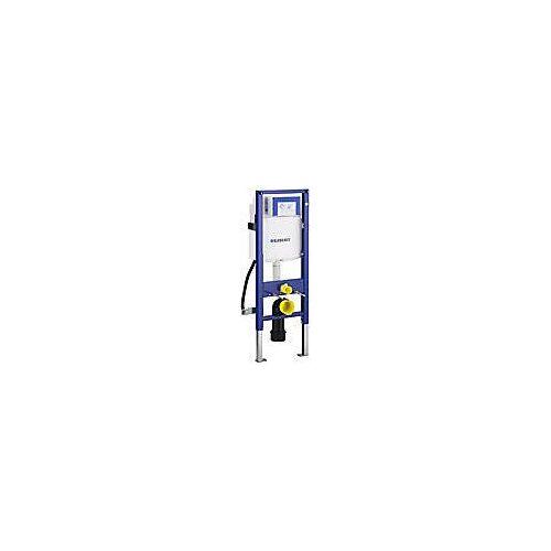 Geberit Duofix Element für Wand-WC, 112 cm, mit Sigma UP-Spülkasten 12 cm, barrierefrei, für Betätigung von vorne für barrierefreies Bauen