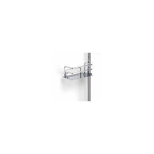 Giese Duschkorb Optisign zur nachträglichen Montage an eine Brausestange links Duschkörbe B: 17 / 21 T: 10 H: 7,5 / 9 cm chrom 30786-02