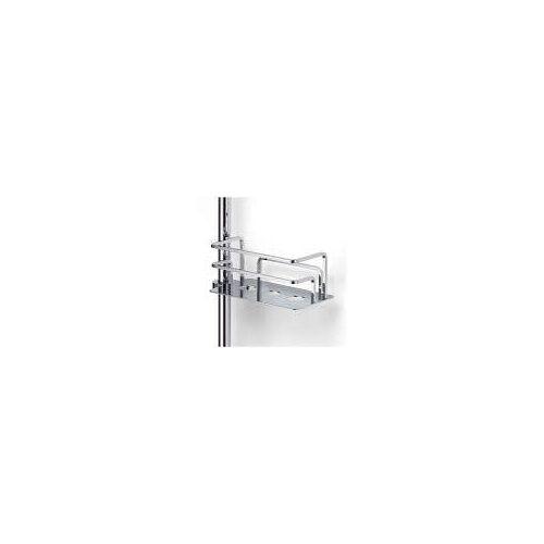 Giese Duschkorb Optisign zur nachträglichen Montage an eine Brausestange rechts Duschkörbe B: 17 / 21 T: 10 H: 7,5 / 9 cm chrom 30784-02