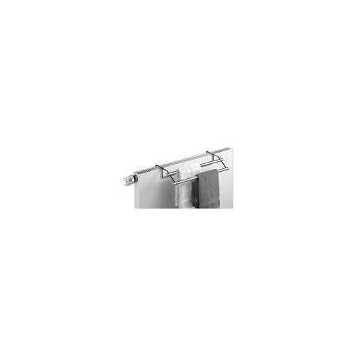 Giese Handtuchhalter, Handtuchtrockner 57,6 cm für Heizkörper Handtuchhalter B: 58 T: 23 verstellbare T: 11 cm chrom 30507-02