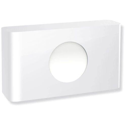 HEWI Hygienebeutelspender serienübergreifend B: 15 T: 3,7 H: 9,2 cm weiß 950.06.700