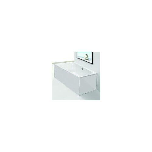 Hoesch Glasverkleidung Vorwand für Thasos Badewanne 3741 passend für Modell 3741 weiß (glas)  47003.550