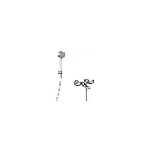 HSK Shower-Set 1.09 mit Design-Handbrause rund Shower Set 1.09 chrom mit Handbrause rund 1000109-R