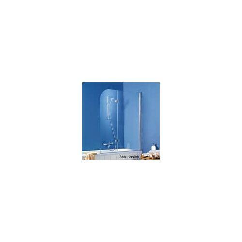 HSK Exklusiv Badewannenaufsatz 2-teilig Anschlag rechts für 5-/6-Eckbadewannen Exklusiv H: 140 cm Anschlag rechts 406600-01-50-rechts