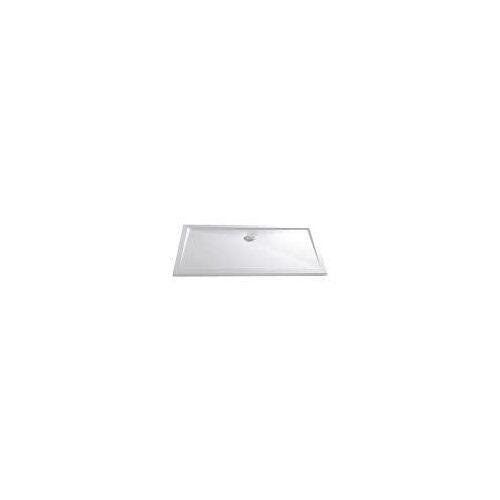 HSK Acryl-Duschwanne Superflach 80 x 100 cm superflach B: 100 L: 80 H: 3,5 - 4,5 cm weiß 52510004
