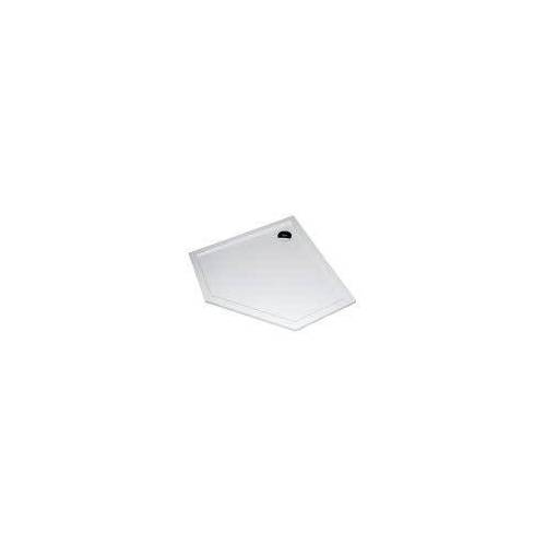 HÜPPE Purano Fünfeckduschwanne 100 x 100 cm Purano L: 100 B: 100 H: 4 cm weiß 210602055