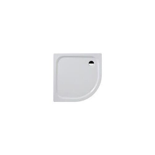 Kaldewei Zirkon 604-2 Viertelkreis-Duschwanne 90 x 90 x 3,5 cm mit Styroporträger 604-2 mit Styroporträger L: 90 B: 90 H: 3,5 / 13 cm