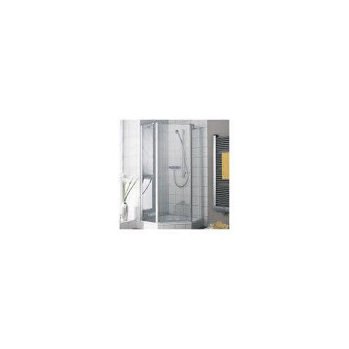Kermi Ibiza 2000 Fünfeck-Duschkabine 101,5 x 101,5 cm mit Schwingtür, Anschlag links, SMW 47,4 cm Ibiza 2000 B: 101,5/101,5 H: 200 cm