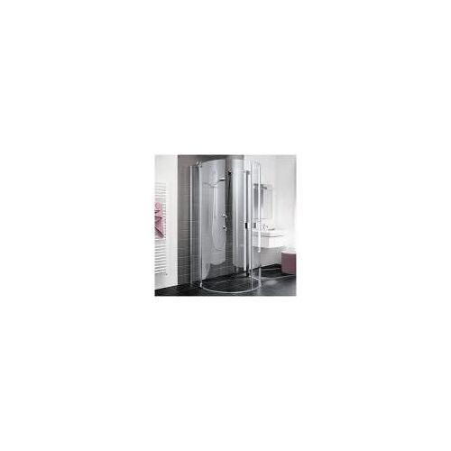 Kermi Raya Halbkreis-Duschkabine 107,6 x 95,5 cm  B: 107,6 T: 95,5 H: 200 cm  RAZ2010020VAK