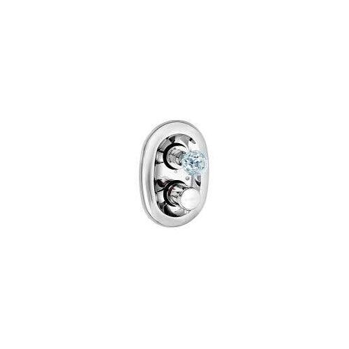 Kludi Adlon UP-Thermostatarmatur mit Kristallgriff Adlon mit Absperrventil chrom 5172005G5