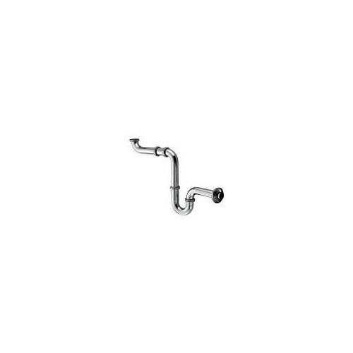 Kludi Raumspar Geruchsverschluss G 1 1/4 serienübergreifend Raumsparsifon chrom 1025505-00