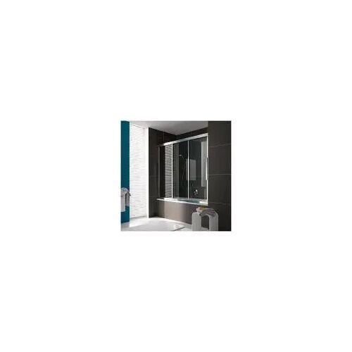 Koralle myDay Duschschiebetür Type BS3 170 für Badewanne  B: 170 H: 160 cm silber hochglanzpoliert VB03917016DA1