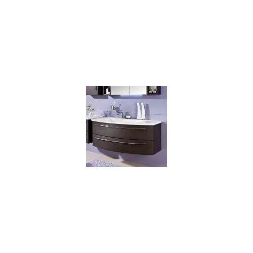 Puris Crescendo Waschtischunterschrank 120 x 47 x 48 cm, für Waschtisch mit Ablage rechts Crescendo B: 120 T: 47 H: 48 cm polarweiß hochglanz