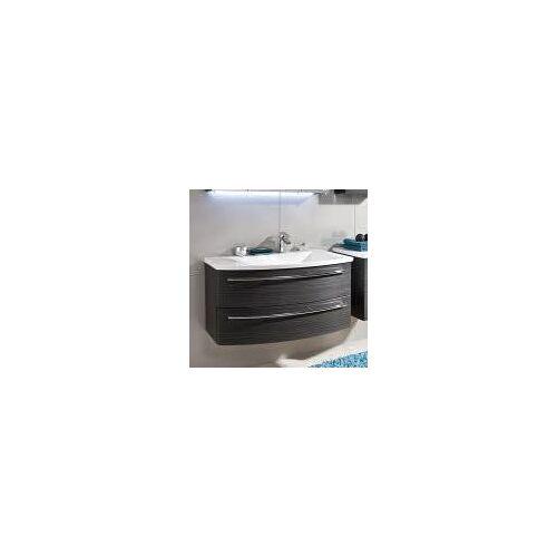 Puris Crescendo Waschtischunterschrank 90 x 47 x 48 cm, für Waschtisch mit Ablage links Crescendo B: 90 T: 47 H: 48 cm polarweiß hochglanz