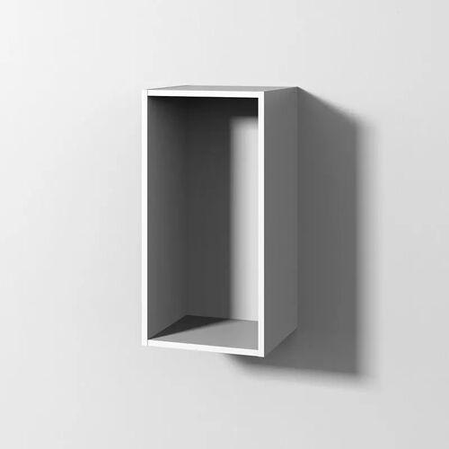 Sanipa Cubes Regalmodul offen 35 x 70 x 32,8 cm Cubes B: 35 T: 32,8 H: 70 cm weiß soft CU10243
