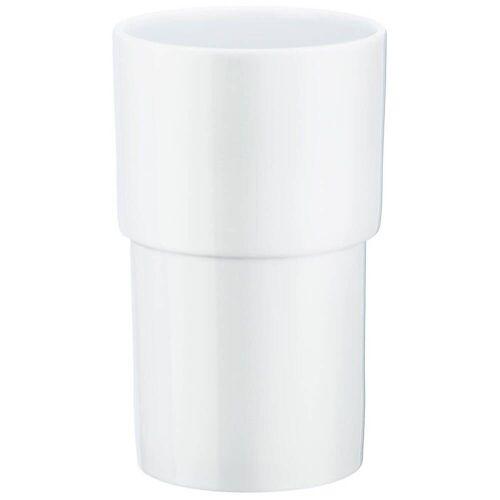 Smedbo Ersatbehälter aus Porzellan House  weiß/porzellan O334