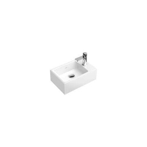 Villeroy & Boch Memento Handwaschbecken 40 x 26 cm Memento B:  40 T: 26 cm weiß 53334G01