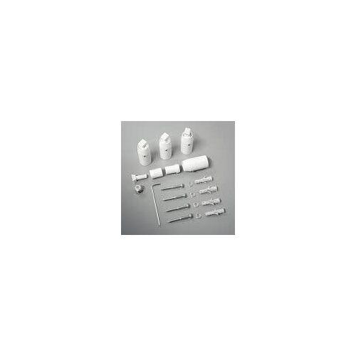 Zehnder Wandmontage-Set für Zehnder Janda  Wandmontage-Set traffic black RAL 9017 926139B5