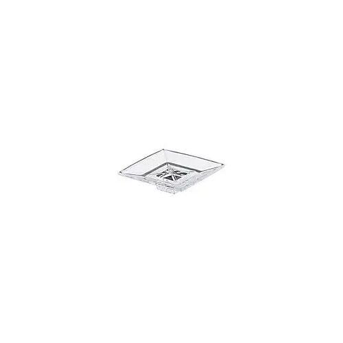 Villeroy & Boch Square Glasschale, einzeln Kristallglas transparent  08.90.01.091.84
