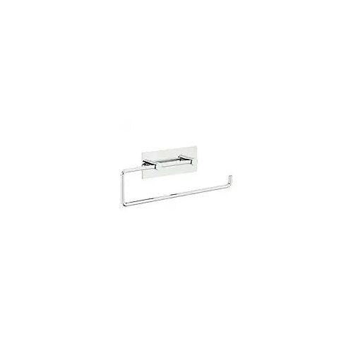 Vola Papierhalter für 2 WC-Rollen oder eine Papierhandtuchrolle  mit Wandplatte chrom matt T13L20