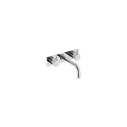 Vola Wand-Waschtisch-Zweigriffmischer UP mit Auslauf Mitte, Ausladung 16 cm Waschtisch Zweigriffmischer Standard chrom 1513K16