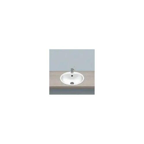 Alape Einbaubecken EW 3.2, kreisförmig mit 47,5 cm Ø Einbaubecken Ø: 47,5 H: 17,7 cm weiß 2018000000