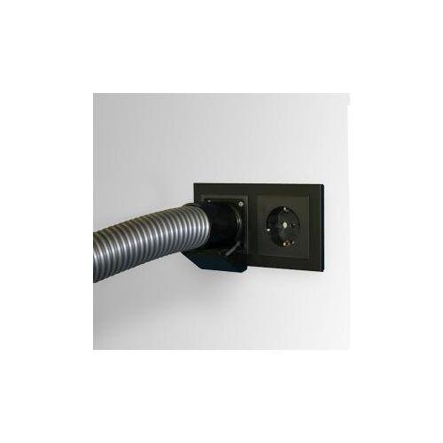 Reuter Zentralstaubsauger Saugsteckdose schwarz matt 10354