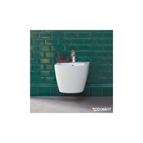 Duravit ME by Starck Wand-Bidet Compact L: 48 B: 37 cm weiß, mit WonderGliss 22901500001